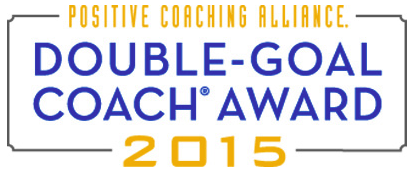 Positive Coaching Alliance | Double-Goal Coach Award 2015